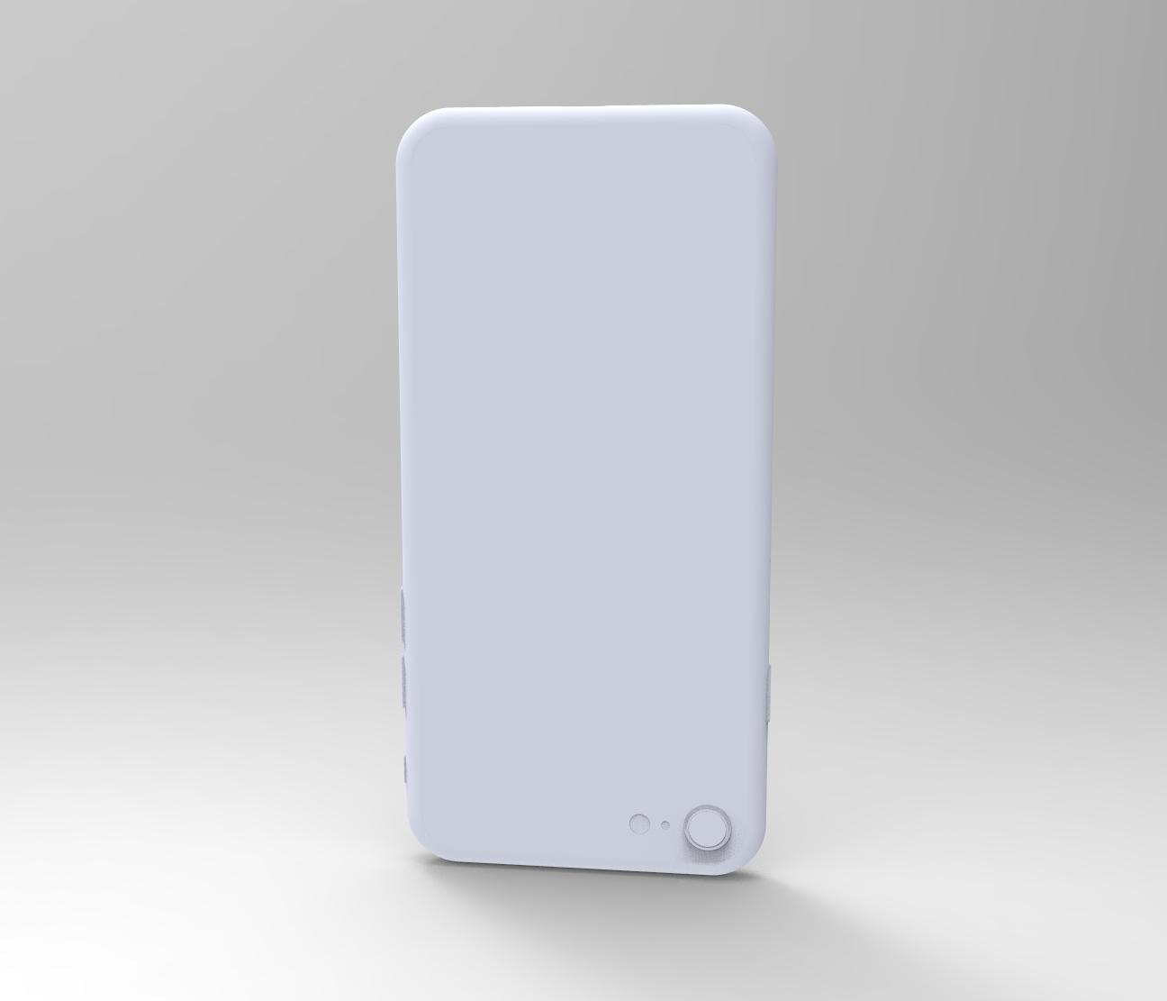 真.Iphone8,不带plus的3D模型