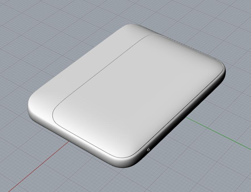 华为路由器简易3D模型
