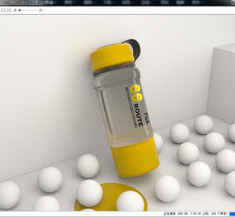 第一次发帖—keyshot渲染练习