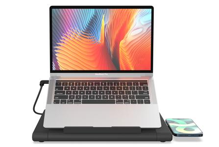 电脑支架—扩展坞+无线充电