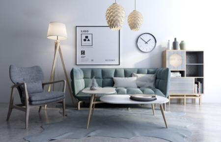 室内客厅沙发3D模型