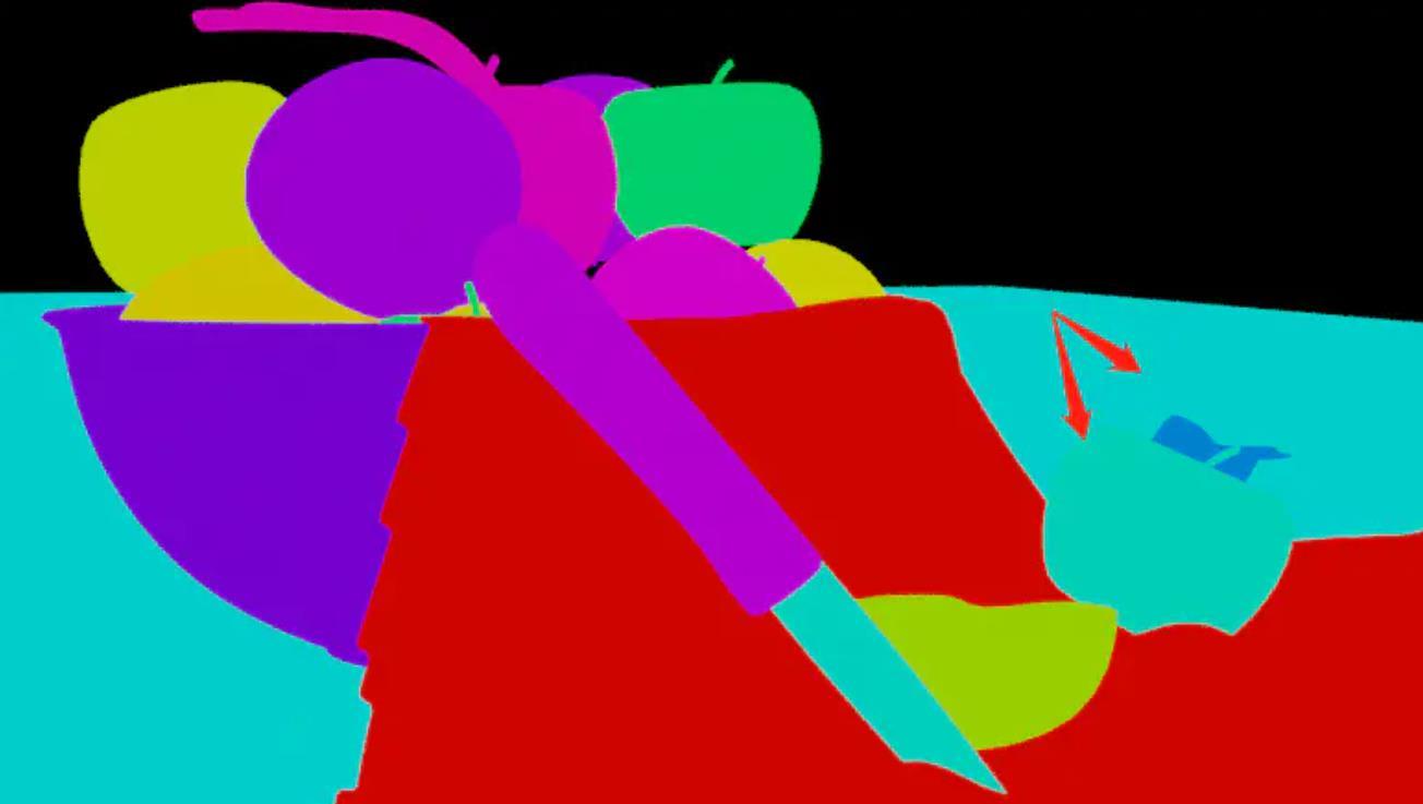 Blender 渲染颜色通道元素颜色图层