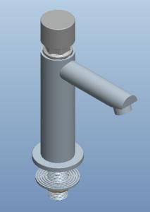 面盆龙头3D模型