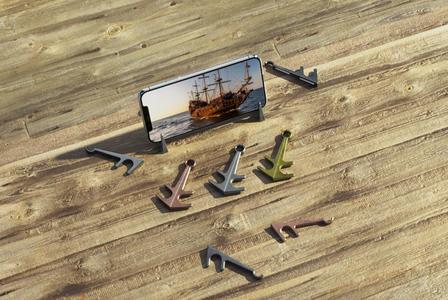 船锚手机支架