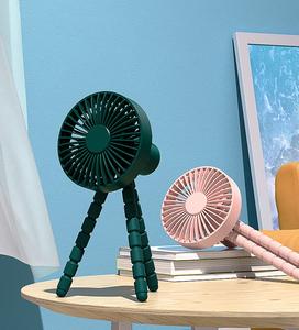夏日桌面风扇产品场景渲染