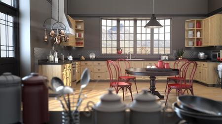 keyshot 厨房渲染场景分享