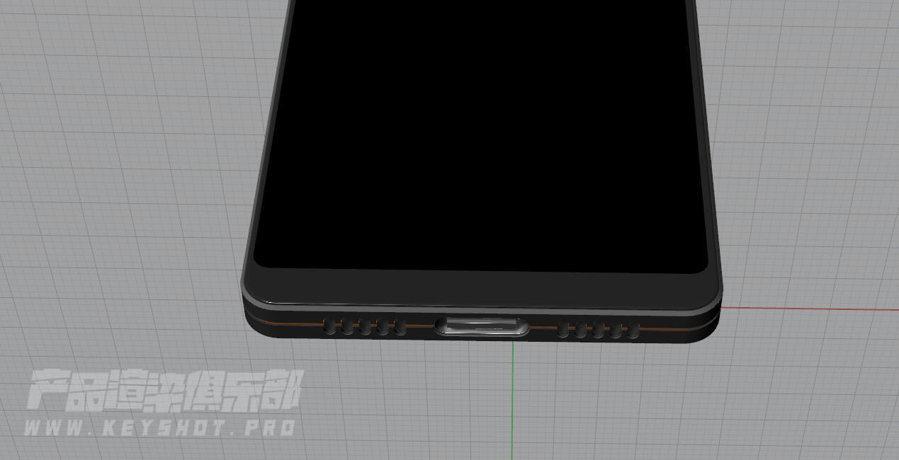坚果2手机犀牛模型
