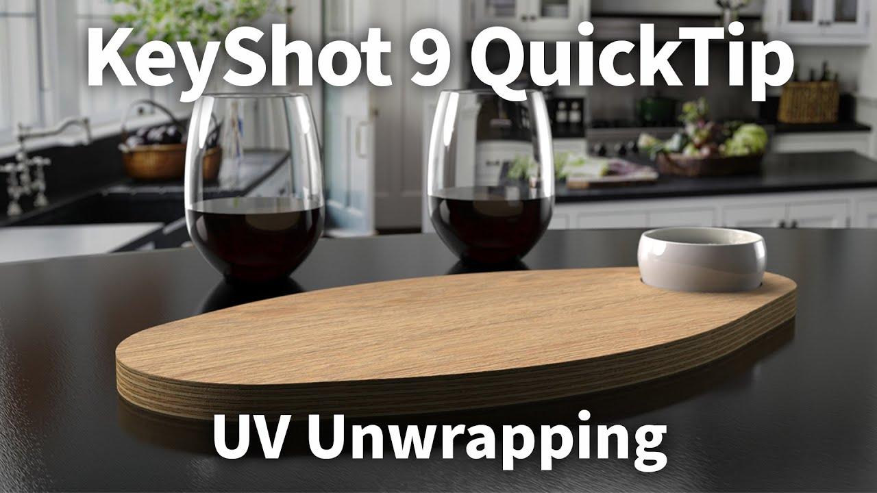 KeyShot 9快速提示-UV展开功能
