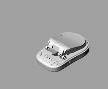 万能充电器3D模型