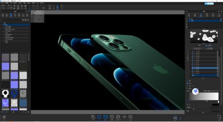 iphone 12 pro max 3D渲染文件最丝滑版本