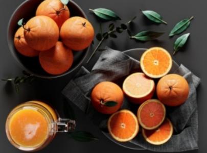 现代餐厅摆件橙汁儿,橘子3d模型含贴图