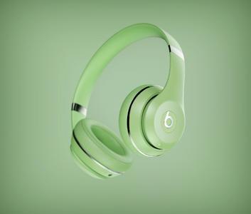 新手耳机keyshot打光练习