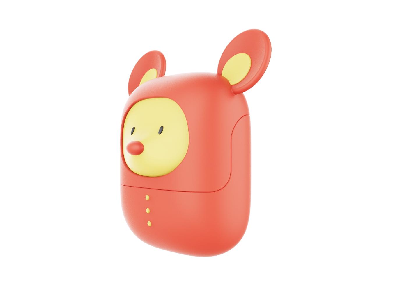小老鼠aipod耳机外套渲染