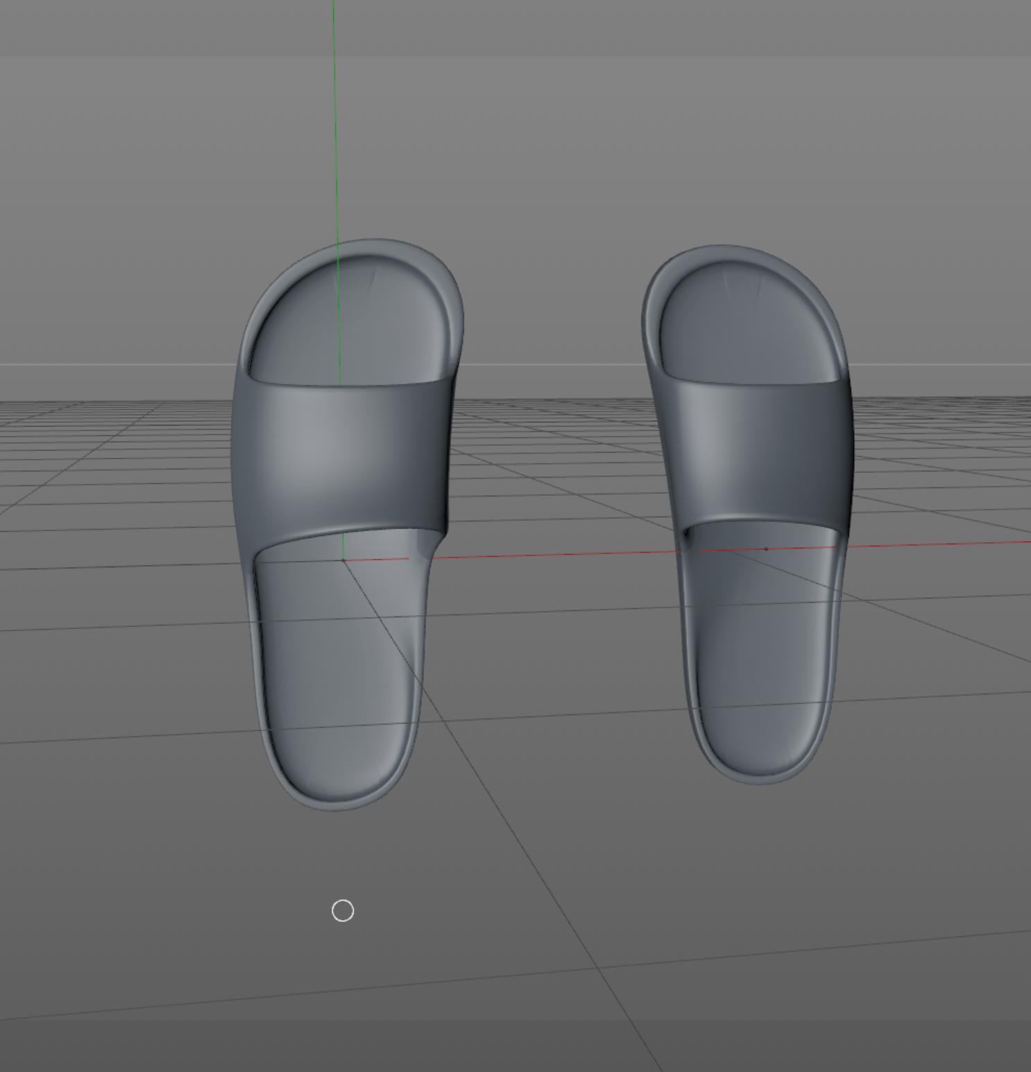 拖鞋鞋子凉鞋犀牛3D模型