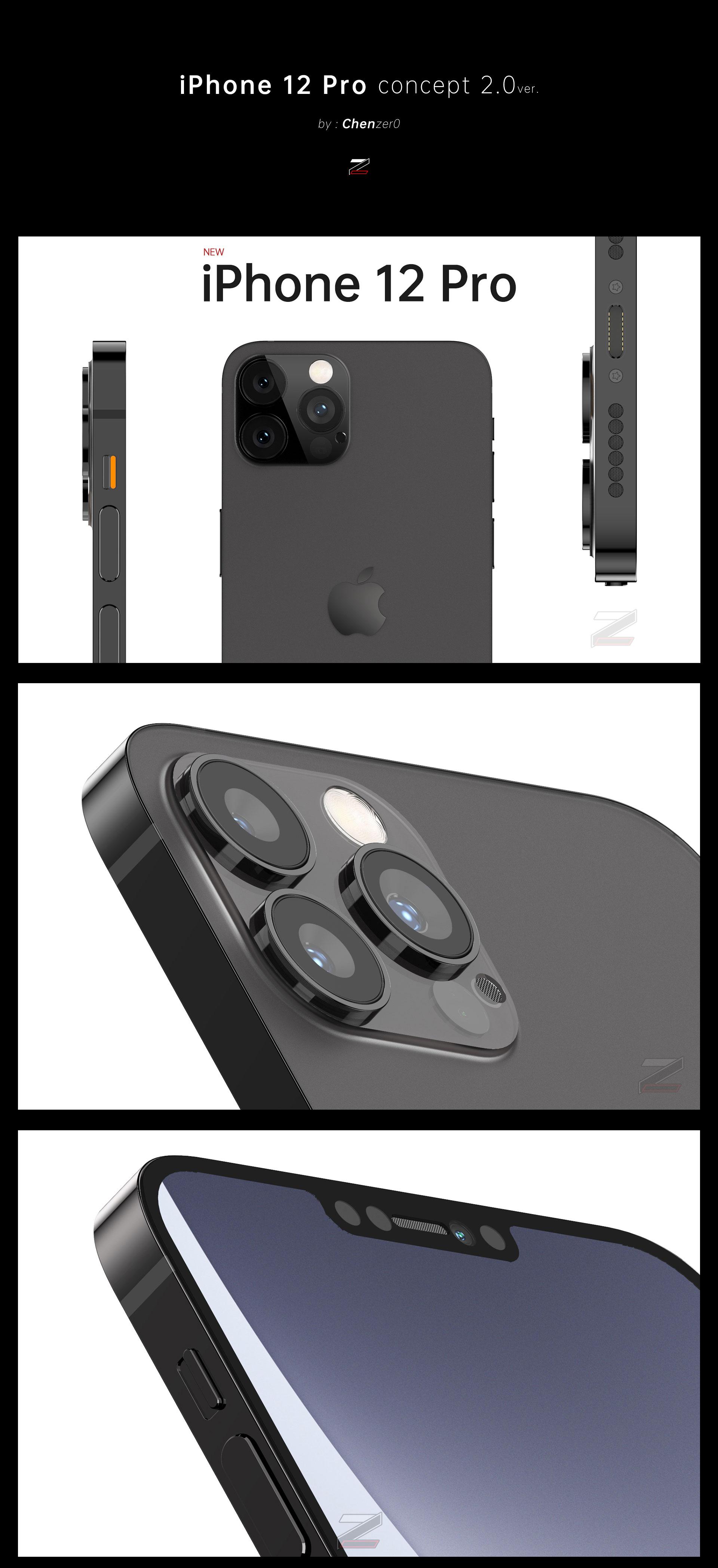 iPhone12Pro第二阶段建模渲染效果输出