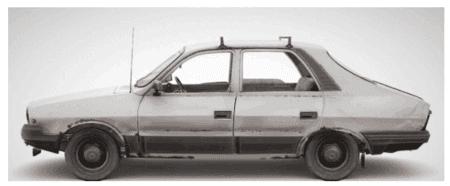 PUBG绝地求生轿跑3D模型