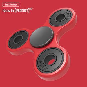 指尖陀螺红色特别版产品渲染