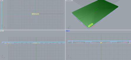 华为平板电脑MatePad Pro(3dm模型)