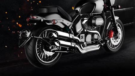 摩托车外观建模渲染