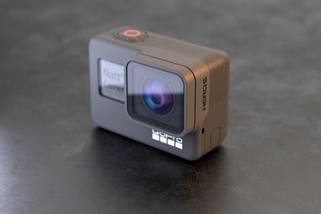 数码运动相机产品渲染